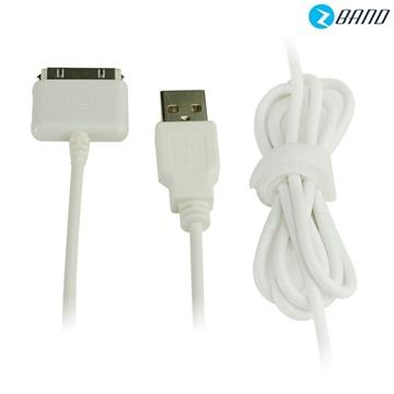 【1M】Prolife iPhone 4傳輸充電線-白