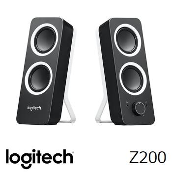 羅技Logitech Z200 多媒體音箱喇叭 黑