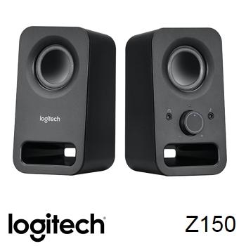 【拆封品】羅技 Logitech Z150 USB 供電音箱喇叭-黑