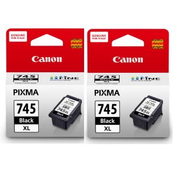 【兩入9折】CANON 745XL 高容量黑色墨水匣