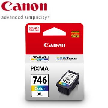 佳能CANON 746XL 高容量彩色墨水匣