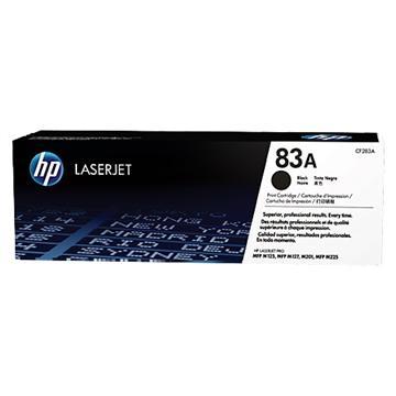 惠普HP 83A 黑色原廠碳粉匣