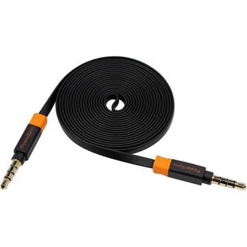 群加3.5mm公對公立體聲音源線-2米