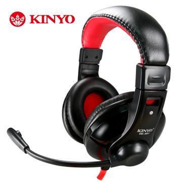 KINYO 超重低音立體聲耳機麥克風 EM-3651