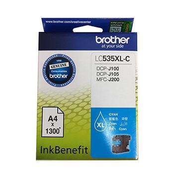 Brother LC535XL-C藍色墨水匣