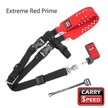 CARRY SPEED 相機背帶-紅