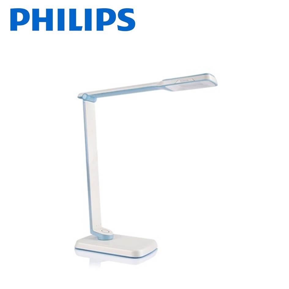 (福利品)飛利浦 晶彥Plus LED檯燈(藍)