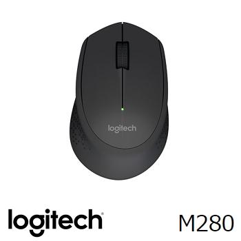 羅技 Logitech M280 無線滑鼠 - 黑
