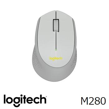 Logitech羅技 M280 無線滑鼠 灰(910-004300)