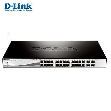 D-Link 智慧型28埠Gigabit網路交換器