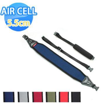 AIR CELL-03 韓國5.5cm顆粒相機背帶 亮眼紅