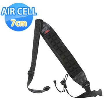 AIR CELL-07 韓國7cm顆粒舒壓腳架背帶 神秘黑