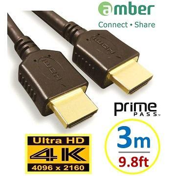 Amber 4K2K HDMI 高階影音線材 3M