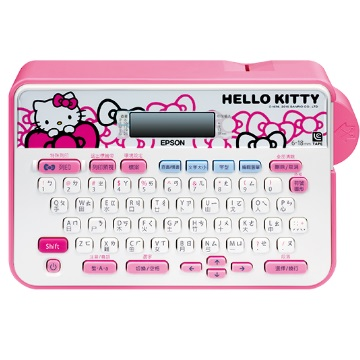 (福利品)愛普生EPSON LW-200KT HELLO KITTY 標籤機