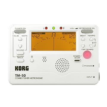 KORG 調音節拍器 TM-50WH(白)