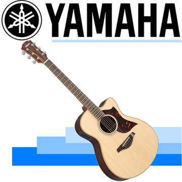 YAMAHA A3系列電民謠吉他-原木色