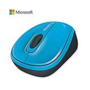 微軟Microsoft 3500 無線行動滑鼠 藍