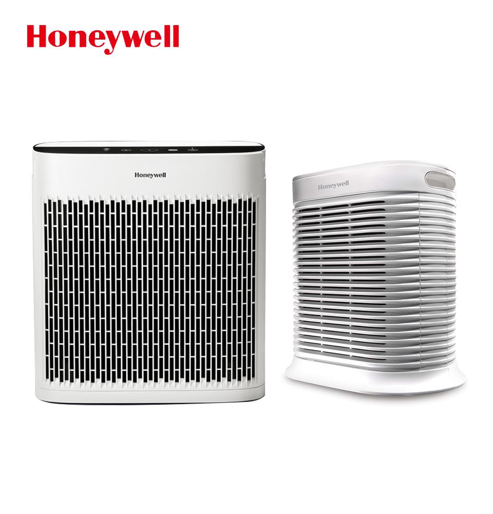 Honeywell 大坪數防護組 4-8坪 True HEPA清淨機 +  InSightTM 5250 10-20坪空氣清淨機
