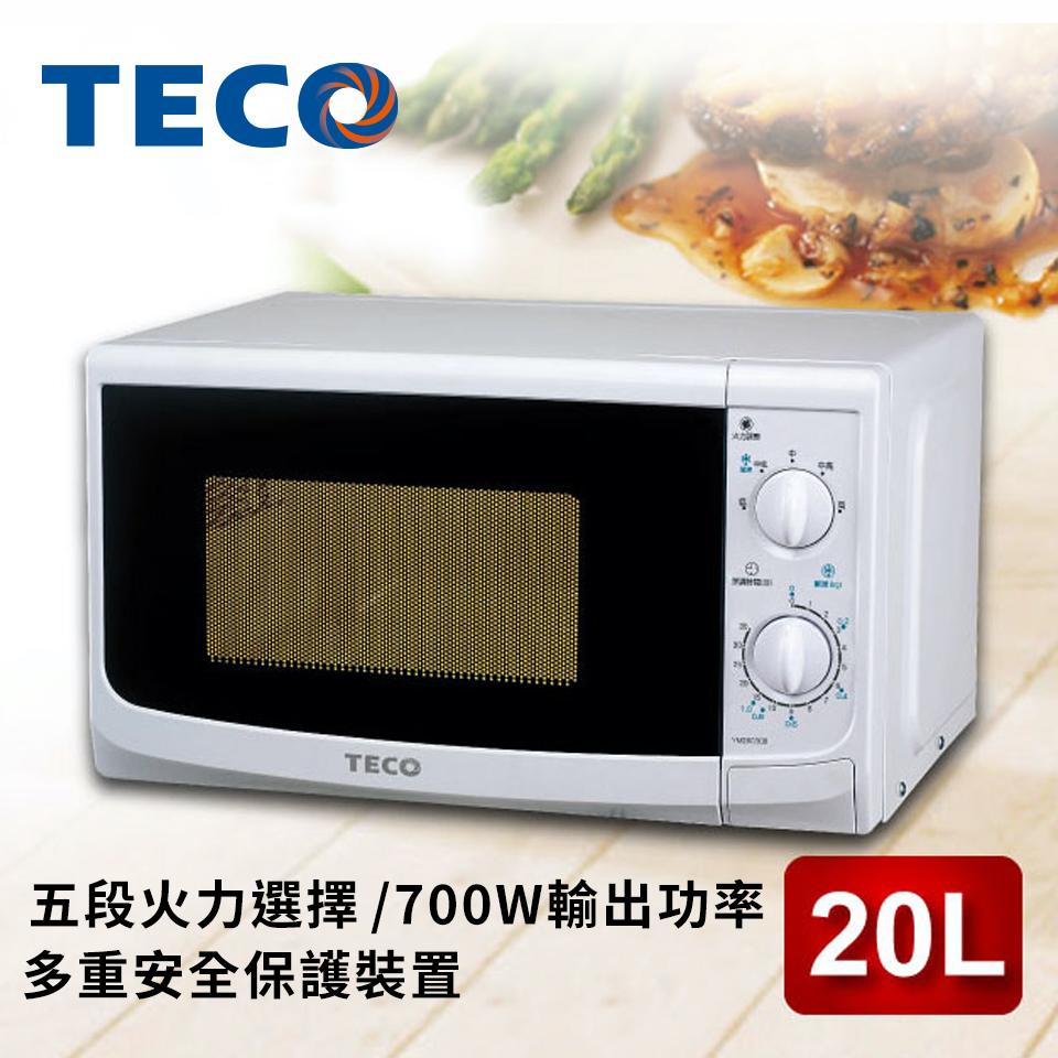 東元TECO 20L 機械式微波爐 YM2003CB