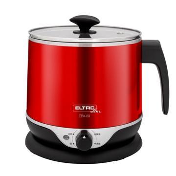 ELTAC 2.2公升雙層防燙不鏽鋼美食鍋