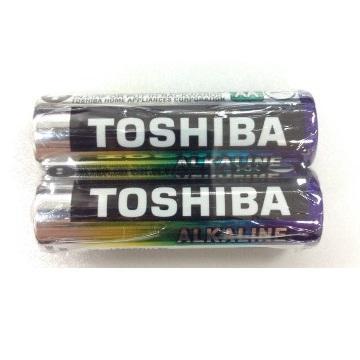 東芝TOSHIBA 鹼性3號電池2入