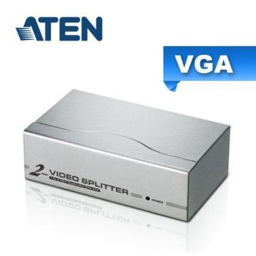 ATEN 2埠 VGA 螢幕分配器 VS92A
