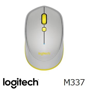Logitech羅技 M337 藍牙滑鼠 灰