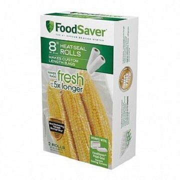 美國FoodSaver 真空用卷2入(8吋)