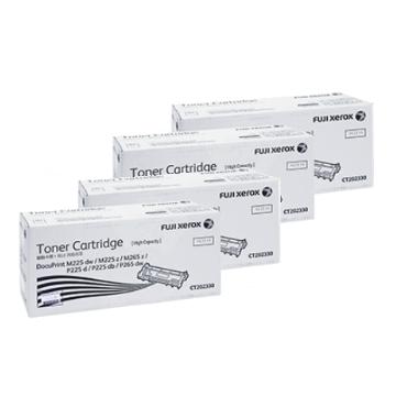 【四入組】Fuji Xerox CT202330碳粉匣-高容量