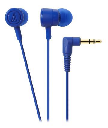 audio-technica 鐵三角 ATH-CKL220 耳塞式耳機 - 藍色