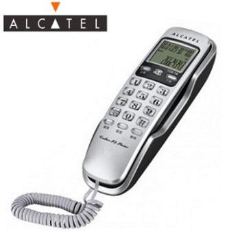 Alcatel 來電顯示有線桌壁兩用電話