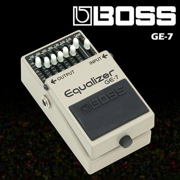 BOSS 等化效果器 Equalizer