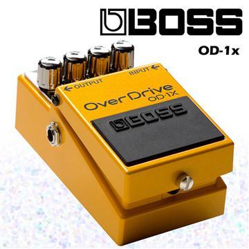 BOSS 單顆破音效果器 OverDrive特別版