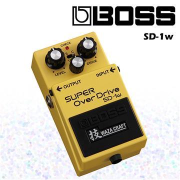 BOSS 效果器 SUPER OverDrive特別版