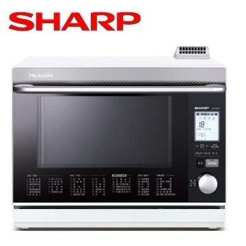 SHARP 31L 日本製HEALSIO水波爐(白)