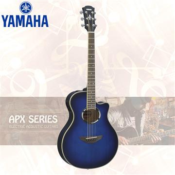 山葉YAMAHA APX500III 電民謠吉他 藍