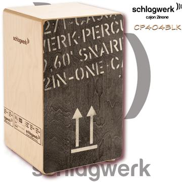 Schlagwerk 手工木箱鼓 2inOne CP404-BLK