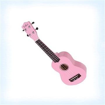 KAKA 21吋高音烏克麗麗-粉紅