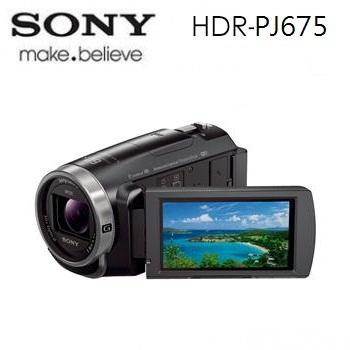 (展示機)索尼SONY PJ675 記憶卡式高畫質投影攝影機
