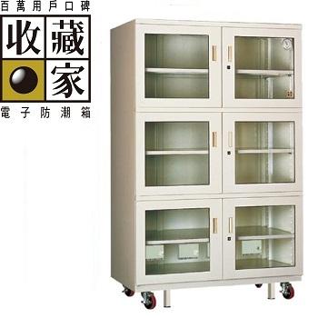 收藏家 專業級六門式電子防潮櫃 1314公升