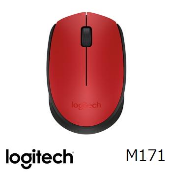 羅技 Logitech M171 無線滑鼠 - 紅
