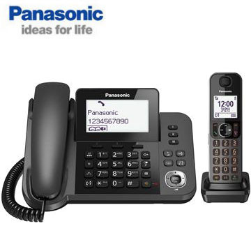 國際牌Panasonic 子母雙機數位無線電話 KX-TGF310TWM