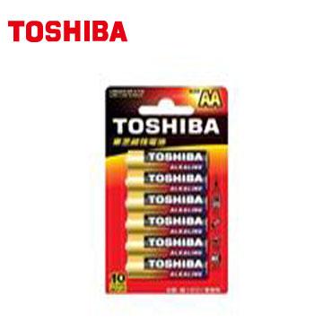 東芝TOSHIBA 鹼3號電池6入卡裝