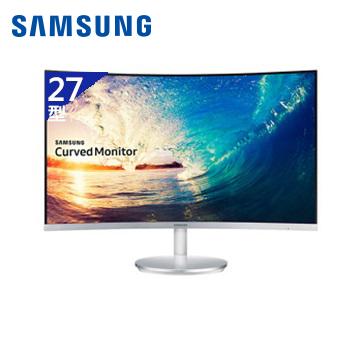 【拆封品】【27型】SAMSUNG Curved C27F591FDE液晶顯示器