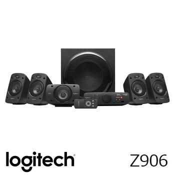 (福利品)Logitech羅技 Z906 5.1 聲道音箱喇叭系統