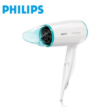 飛利浦Philips 旅行用輕巧折疊超靜音吹風機
