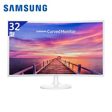 【拆封品】【32型】SAMSUNG Curved C32F391FWE液晶顯示器