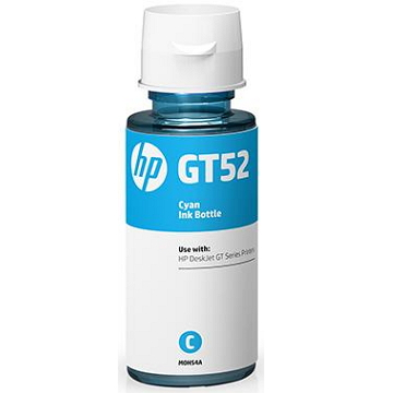 惠普HP GT52 青色原廠墨水瓶 M0H54AA