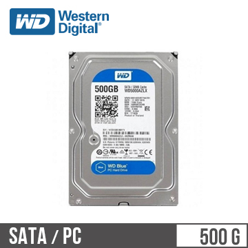WD威騰 3.5吋 500G SATA硬碟 藍標