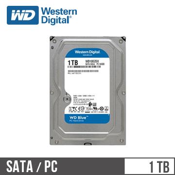 WD威騰 3.5吋 1TB SATA硬碟 藍標